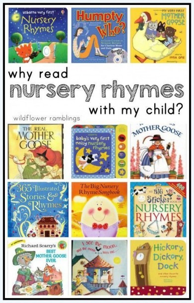 Why Read Nursery Rhymes With My Child