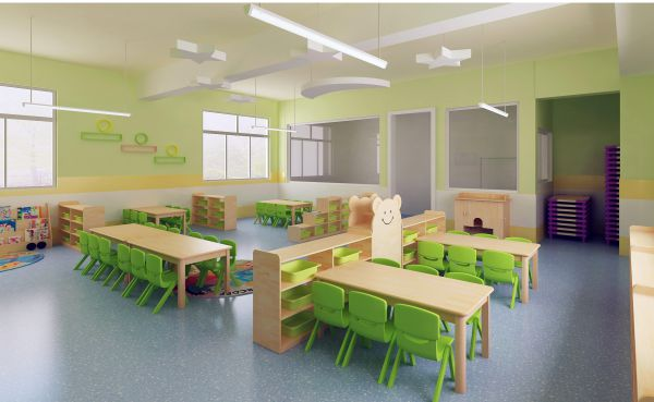 Preschool Furniture Kindergarten Classroom Table Chair Of