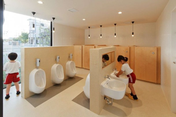 Kindergarten In Japan Is Made From Recycled Marine Shipping