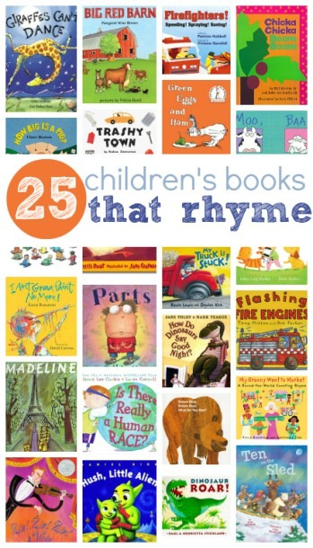 25 Picture Books That Rhyme