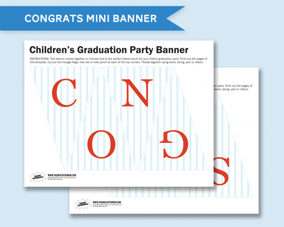 Free Printable Congratulations Graduation Sign