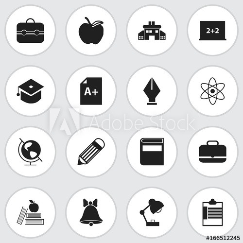 Set Of 16 Editable Knowledge Icons  Includes Symbols Such As