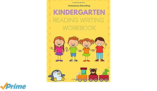 Kindergarten Reading Writing Workbook  Learn To Read And Write