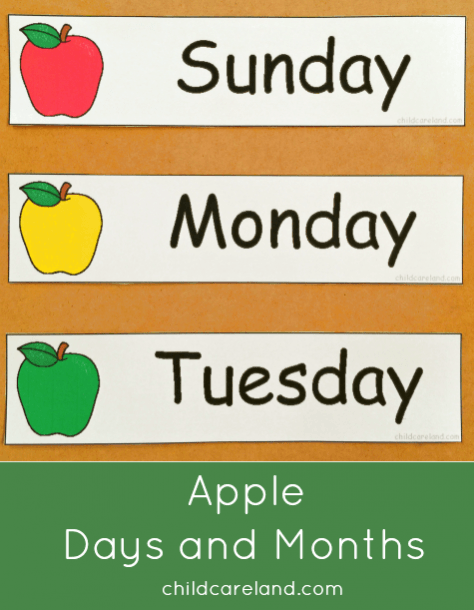 Apple Days And Months