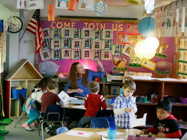 Kindergarteners Choose How They Are Greeted In Class