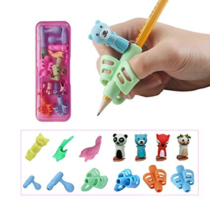Amazon Com   Pencil Grips For Kids Handwriting, Pen Grippers For
