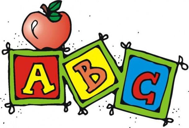 Kindergarten Abc Clipart