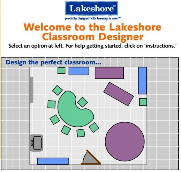 Classroom Designer From Lakeshore Learning  With This Interactive