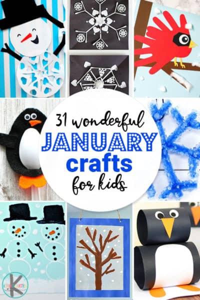 36 Wonderful January Crafts For Kids  – Kindergarten Worksheets And