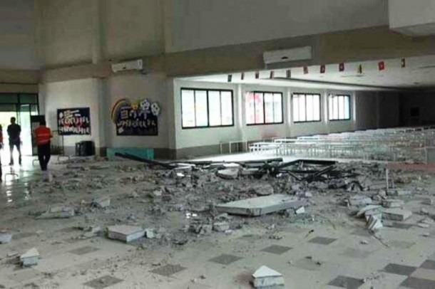 School Building Wall Collapses Killing 4 Year