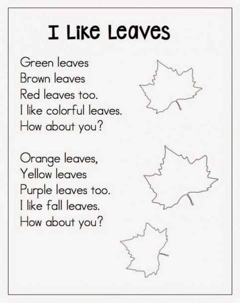 Autumn Leaf Poems