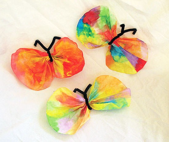 North Texas Kidseasy Kids Crafts  Coffee Filter Butterfly Craft