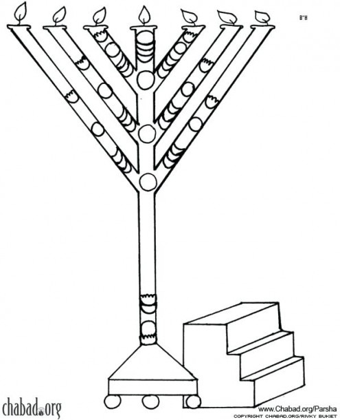 Coloring Pages Menorah Page Kindergarten – Hikitchen Info