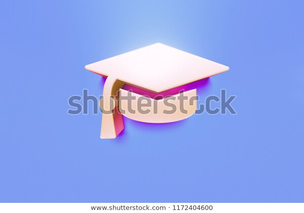 Copper Isolated Icon On Blue Background Stock Illustration 1172404600