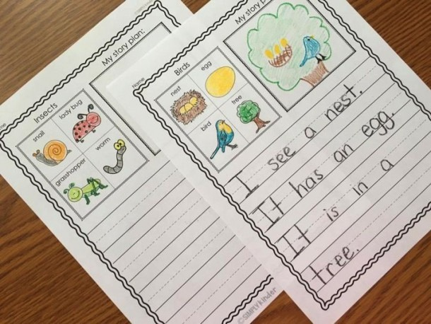 Kindergarten Journal Writing Prompts Term Paper Example