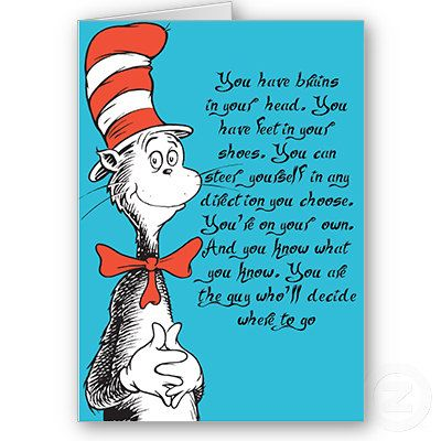 Dr  Seuss Graduation Card Congratulations Fun Card Kindergarten