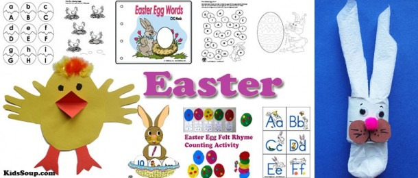 Easter Crafts, Activities, Games, And Printables