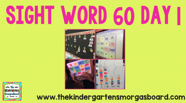 Sight Word 60  Day 1