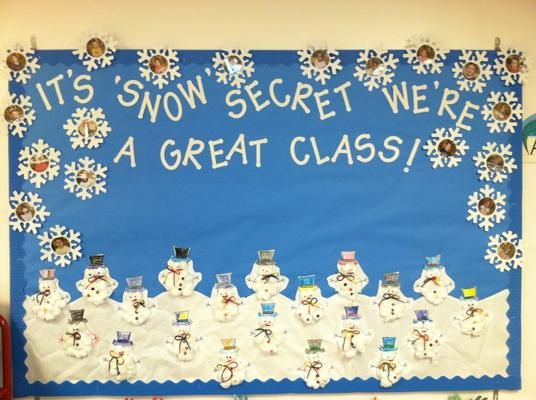 I Have Found My Winter Bulletin Board For The Headstart Cant