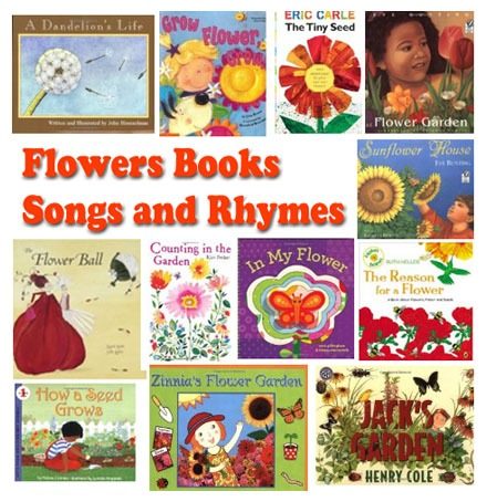 Flowers Rhymes, Songs, And Books For Preschool And Kindergarten