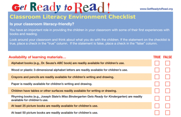 Proedu Consultingreading Ready Classrooms