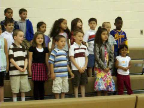 Ese Kindergarten Assembly 2010 Song 1