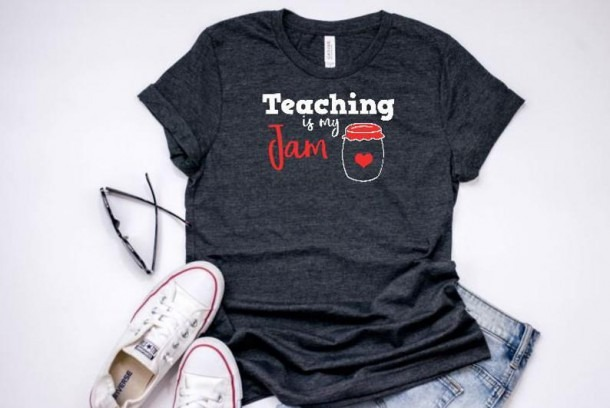 Teaching Is My Jam Teacher Shirts Team Teacher Shirts Cute