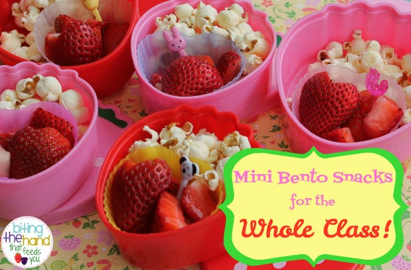 Biting The Hand That Feeds You   Berry  Fun Mini Bento Snacks For