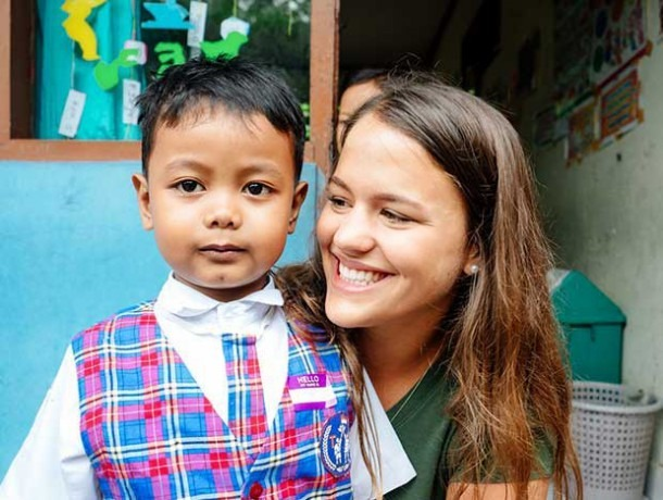 Childcare Volunteer Programs Abroad  Daycare Or School Assistant