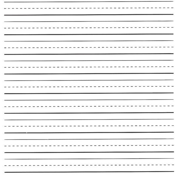 Lined Writing Paper Elementary