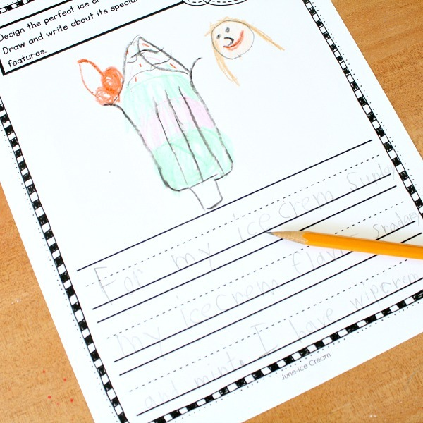 Preschool And Kindergarten Writing Prompts For Kids