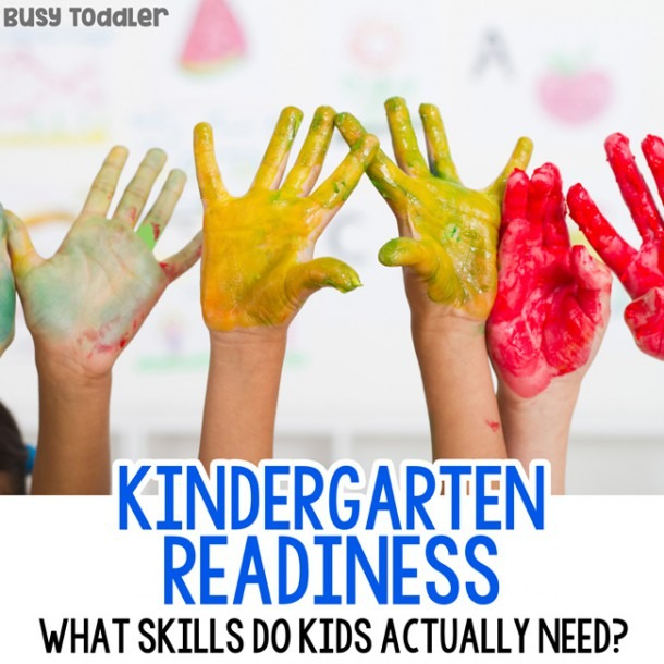 15+ Awesome Kindergarten Readiness Skills