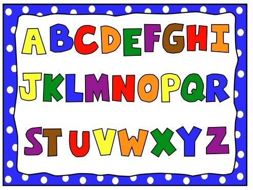 Teaching Upper Case Letters  Clipart Schoo  56563