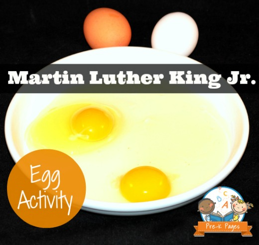 Martin Luther King Jr Day Theme For Preschool