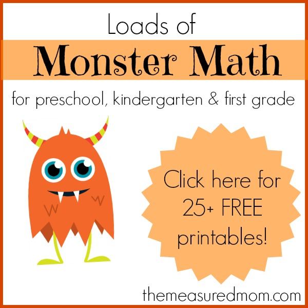 Monster Math Games & Activities