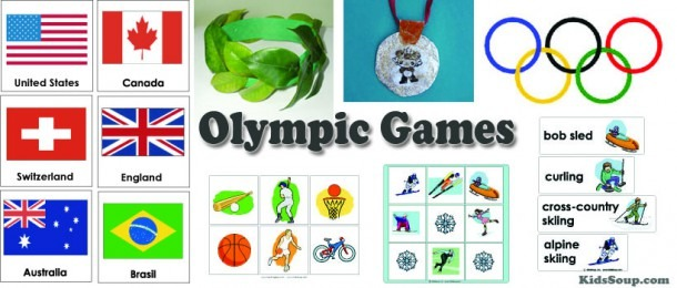 Olympic Games Activities, Games, And Printables