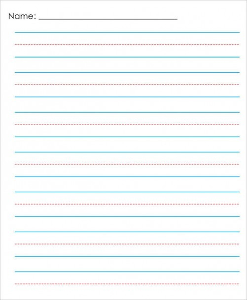 13+ Lined Paper Templates In Pdf