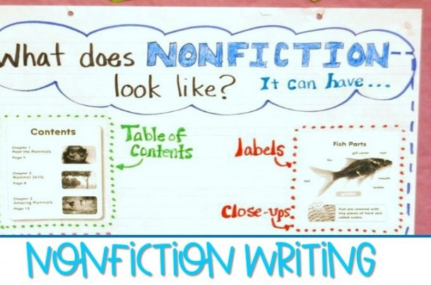 Nonfiction Writing Lessons In Kindergarten And First Grade