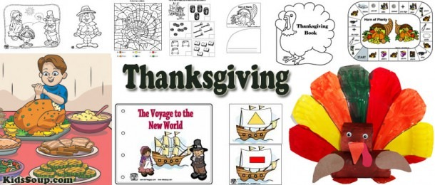 Thanksgiving Crafts, Activities, Games, And Printables