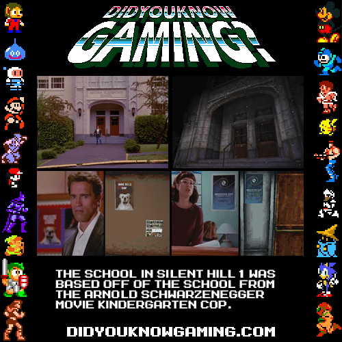 The School In Silent Hill 1 Was Based Off Of The School From The