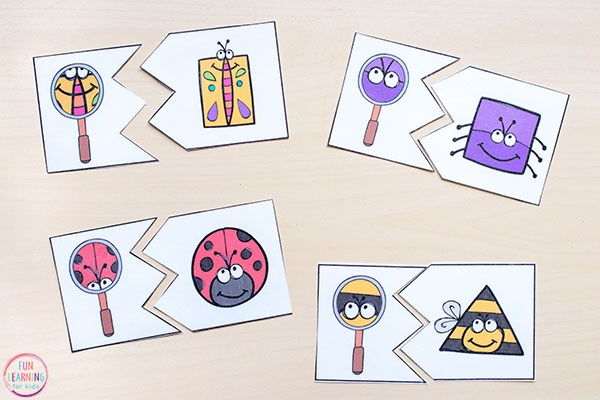 Insect Theme Math And Literacy Printables For Pre