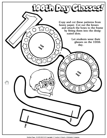 Best Free 100th Day Of School Printable Activities And Worksheets
