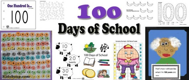 100 Days Of School Activities, Games, And Printables
