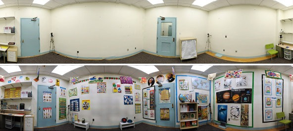 Rethinking The Colorful Kindergarten Classroom