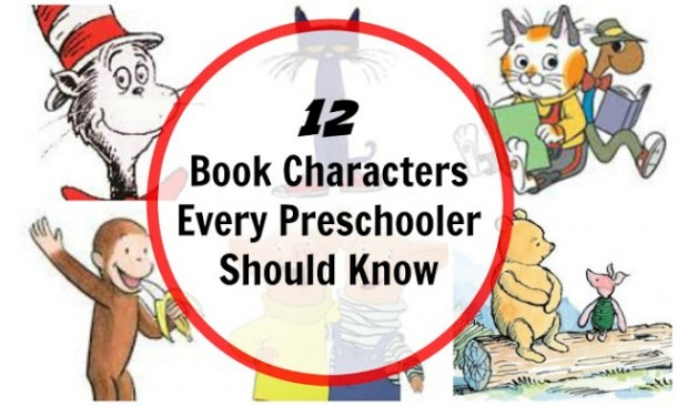 12 Book Characters For Preschool Children
