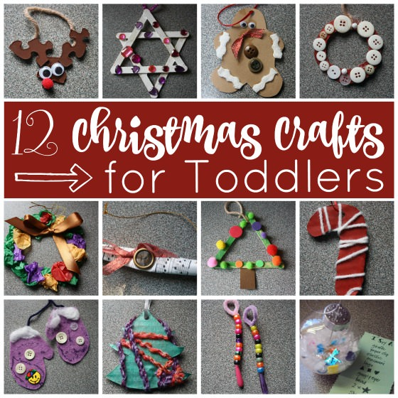 12 Easy Christmas Crafts For Toddlers