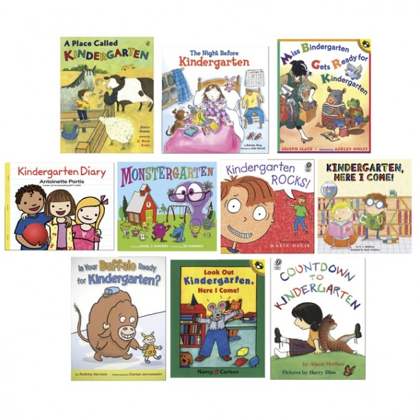 Childcraft The First Day Of Kindergarten Collection Books, Pack Of 10