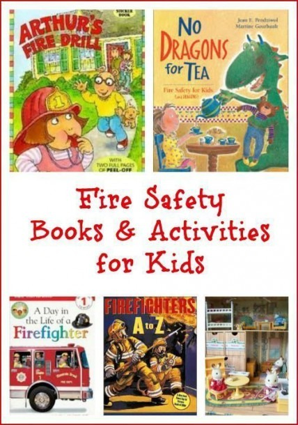 Fire Safety Activities For Kids  Printables, Books & Skills To