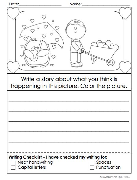Creative Writing Prompts For Kindergarten    Www Quikitdept Com