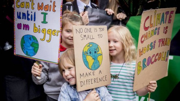 Teaching Union Concern After Pupils Walk Out For Belfast Climate